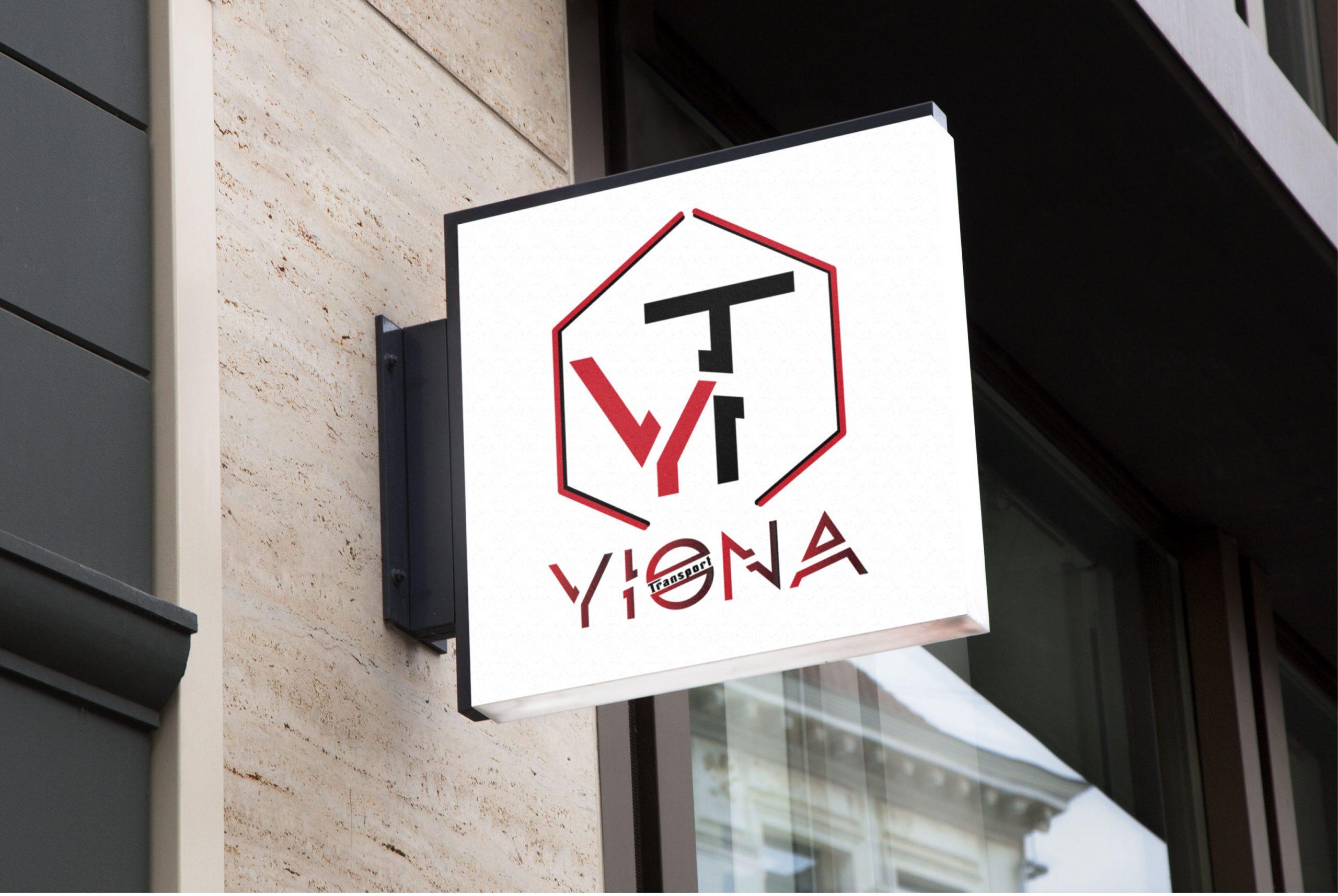 création de l'enseigne Yiona par l'agence 7essentiels à Pithiviers